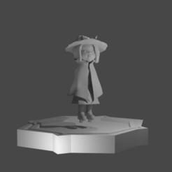 base y modelo.png Download STL file Art Toy Witch • 3D printer design, bdgrafico