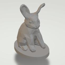 Lapin.png Télécharger fichier OBJ gratuit Lapin à faible taux de poly • Plan pour imprimante 3D, manok