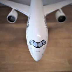cockpit.jpg Télécharger fichier STL gratuit Airbus A350 XWB Lufthansa Airliner Sacle 1/100 • Design pour imprimante 3D, BeneHill