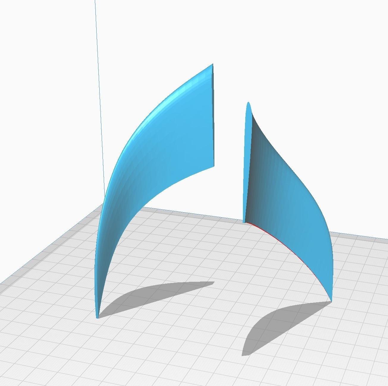 Winglets 1-25.JPG Télécharger fichier STL gratuit Airbus A350 XWB Lufthansa Airliner Sacle 1/100 • Design pour imprimante 3D, BeneHill
