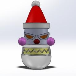 rs etsy 1.jpg Download STL file Robot Santa Futurama ornament • 3D printing model, JOSEPHSJUNK