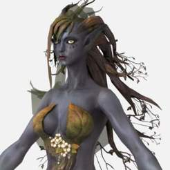 dryad-from-bless1.jpg Download free STL file Dryad from Bless 3D Model • 3D print design, tredinium