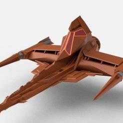 Screenshot_2.jpg Download free STL file Draconian Marauder from Buck Rogers in the 25th Century 3D Model • 3D print model, tredinium