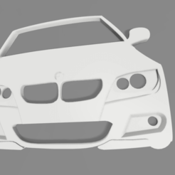 bmw e92 v2.png Download STL file BMW E92 M3 keychain • Template to 3D print, Andreads