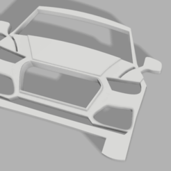 audi q5 v3.png Download STL file AUDI Q5 keychain • 3D printable template, Andreads