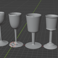 glass_collection.png Télécharger fichier STL gratuit Collection de verre à l'échelle 1/3 • Plan à imprimer en 3D, bozicpepsi