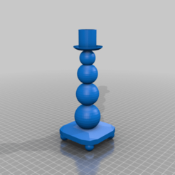 candleholder.png Télécharger fichier STL gratuit Bougeoir • Objet pour impression 3D, bozicpepsi