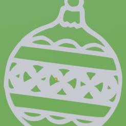 ornament.png Télécharger fichier STL gratuit Décoration de Noël II • Modèle pour imprimante 3D, bozicpepsi