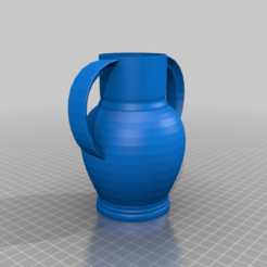 amphora_1.png Télécharger fichier STL gratuit Amphore • Objet pour impression 3D, bozicpepsi