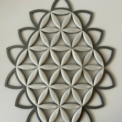 6A0A19A1-2EFA-402B-8CAC-325641BBEAB1.jpeg Download STL file Flower of Life Ornament  • Model to 3D print, robbes