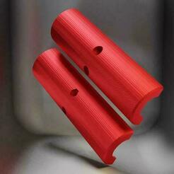 Render 1 V2-540x540.jpg Télécharger fichier STL gratuit Amélioration du roulement du porte-bobine Anet A6 • Objet pour imprimante 3D, Jonas_Burkhard