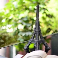 resize-2-preview-featured.jpg Download free STL file Eiffel Tower • 3D printable design, johnkane