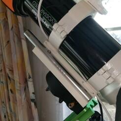 2020-12-17 14.33.34.jpg Télécharger fichier STL Astrophoto : Evostar 72 ED porte stylo laser adapté • Design pour imprimante 3D, Youpi4fc