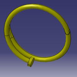 Image 1.PNG Download OBJ file Nail bracelet ( 4 different sizes ) • 3D printer object, michel89xa