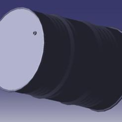 L_baril 2.png Download OBJ file Barrel of oil • 3D printer model, michel89xa