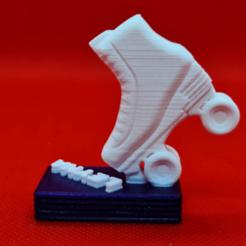 patin.png Download STL file skateboard mask hanger • 3D printing object, 3dMestres