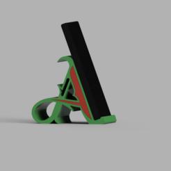 soporte mobil Adri.PNG Download STL file mobile phone holder • 3D printing template, 3dMestres