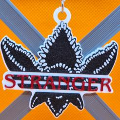 stranger02.png Télécharger fichier STL porte-clés des choses étranges • Design imprimable en 3D, 3dMestres