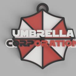 umbrella01.PNG Download STL file key ring umbrella (resident evil) • 3D printer object, 3dMestres