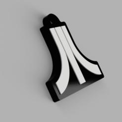 atari sin.png Download STL file atari model key ring • 3D print object, 3dMestres