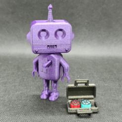 Télécharger fichier STL gratuit Cyber_Rob le robot (test de l'imprimante 3D) • Plan pour impression 3D, 3dMestres