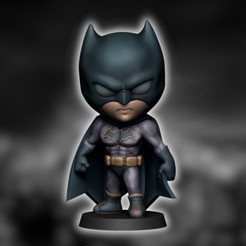 ZBATMAN1.jpg Descargar archivo STL CHIBI BATMAN • Modelo imprimible en 3D, DiegoBlancoAres3D