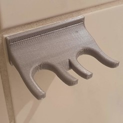 holder.jpg Download free STL file Toothbrush heads holder • 3D printable template, chakmidlot