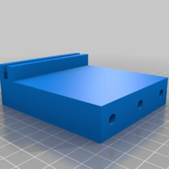 5c9b32418695a0a4be3a3721bcec83ba.png Download free STL file Under counter support for knife case • Object to 3D print, Patave