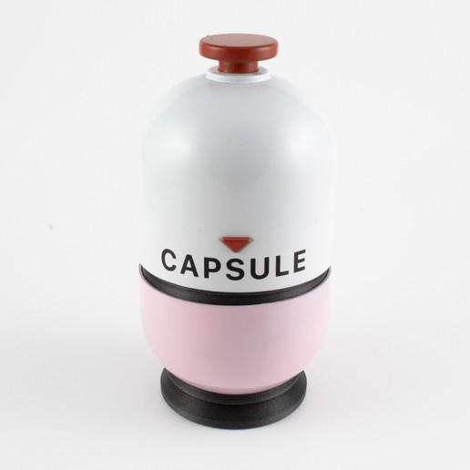 Capsule-02.jpg Download free STL file Super Smash Brothers Amiibo Capsule • Template to 3D print, Make-Do