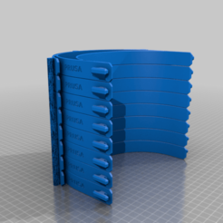 rc3Shield_v11.png Download free STL file covid19 prusa rc32 8pcs stacked 3 hole punch • 3D printer design, chubylive
