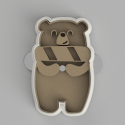 Snímek obrazovky 2020-11-23 230523.png Télécharger fichier STL moule à biscuit • Plan pour impression 3D, Buttskin