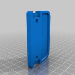 drzak2.png Download free STL file Door handle • 3D printer object, Buttskin