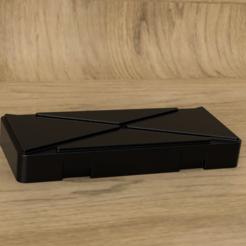 RenderCalibrador box.PNG Download STL file Caliper Safety Box 6 in • 3D printable object, Alegalante