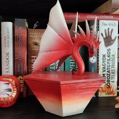 festett.jpg Télécharger fichier STL Hexa-box guidée par un dragon • Design à imprimer en 3D, Trolloverlord