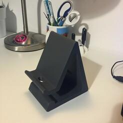 IMG_0577.jpeg Télécharger fichier STL Support pour téléphone • Design pour imprimante 3D, oscar_bontron