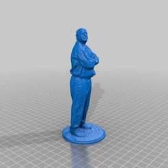 SteveH-print.jpg Download free STL file Steve H • 3D printable model, schmidjon