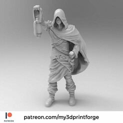 later1.jpg Download free STL file The Unknown Hero 32mm Pre-supported • Model to 3D print, My3DprintFORGE