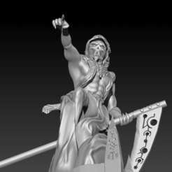 Nightbringer6.png Download STL file C'tan Shard - the Death • 3D printing design, DoomsdayKitten