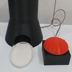 distributeur.jpg Download STL file Cat food dispenser • 3D printer model, BelSD