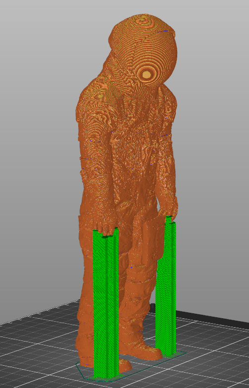 supports.PNG Download STL file Neil Armstrong Astronaut Spacesuit Apollo 11 • 3D printable design, tubbybtch
