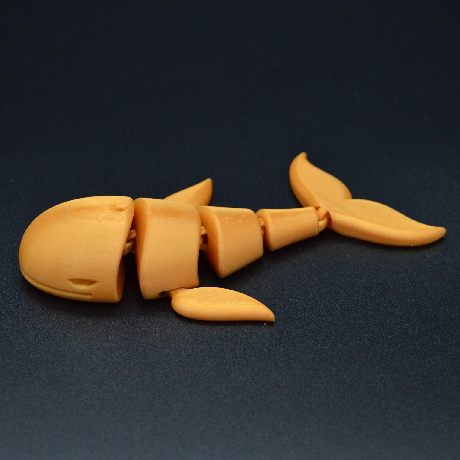 DSC_7624.JPG Download STL file Flexi whale • 3D print design, Hom_3D_lab