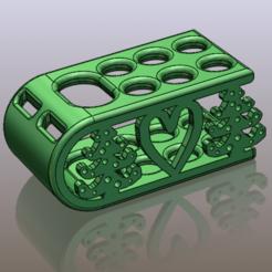 dk.png Download STL file Toothbrush Holder • 3D printing template, hasanrcn