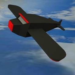 avion.jpg Download STL file Toy plane • 3D printer object, 4vecesmayk