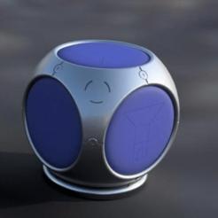 PortAFort.png Télécharger fichier STL gratuit Grenade à fornite de Port-A-Fort • Design pour impression 3D, RealBadDad