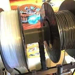 1E97645E-9057-4962-8AF4-11E83314EF0E.jpeg Download free STL file Prusa MK3 Spool holder spacer - 24mm • Model to 3D print, RealBadDad