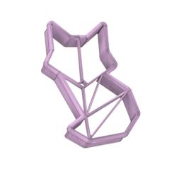 Fox cutter.png Télécharger fichier STL Un emporte-pièce en forme de renard • Plan pour imprimante 3D, schneiderboris