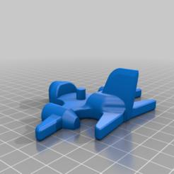 Plane_superzings_STL.png Télécharger fichier STL gratuit Avion pour le superzing • Plan à imprimer en 3D, Sonica