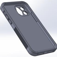 iPhone 12 Case 1.jpg Télécharger fichier STL Etui pour iPhone 12 (avec monture d'objectif !) • Objet à imprimer en 3D, alchemist3D