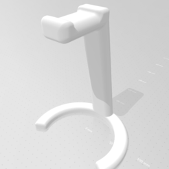 vvvvv.png Télécharger fichier STL SUPPORT POUR CASQUE D'ÉCOUTE • Objet pour impression 3D, maximilianopascarelli