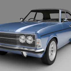 FORD CORTINA.PNG Download free STL file FORD CURTAIN 1:28 SCALE BODY • 3D printer object, tecnostudio3d